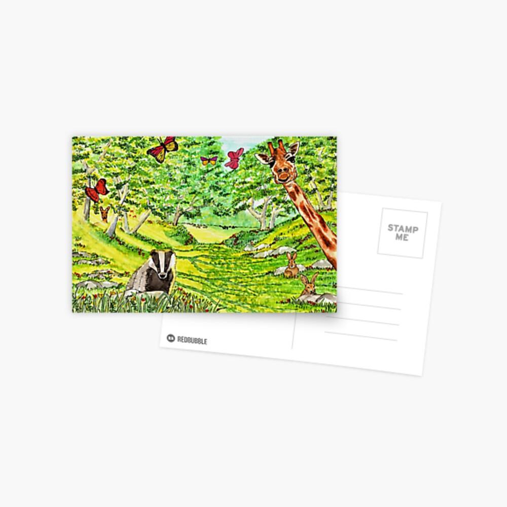 Friendly Faces - Postcard Postcard