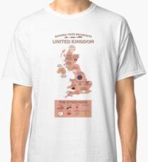 Regional Fried Breakfasts of the United Kingdom Classic T-Shirt