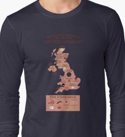 Regional Fried Breakfasts of the United Kingdom T-Shirt