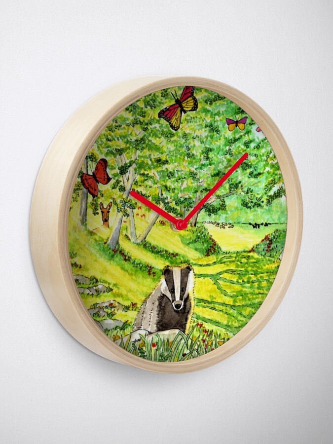 Alternate view of Friendly Faces - Clock Clock
