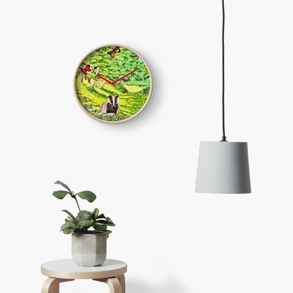 Friendly Faces - Clock Clock