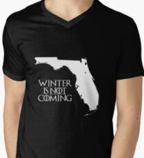Winter is NOT coming Men's V-Neck T-Shirt