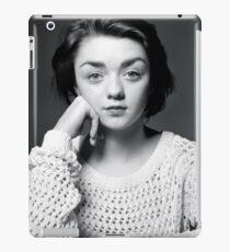 Maisie Williams Black & White iPad Case/Skin