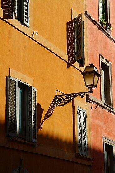 Street Light - Rome by Samantha Higgs