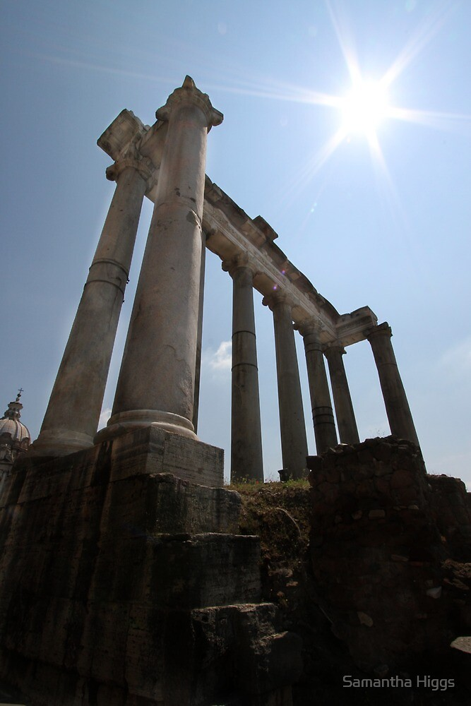 Temple of Saturn  by Samantha Higgs