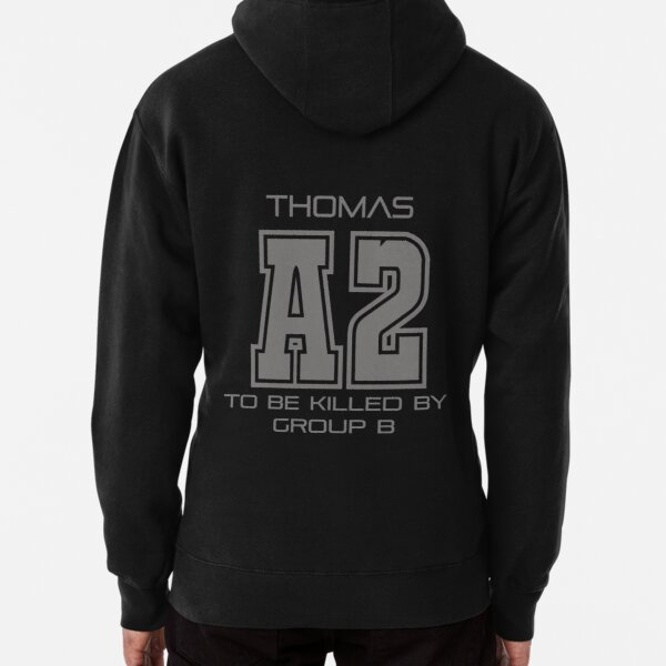 Subject A2 - To Be Killed By Group B Pullover Hoodie