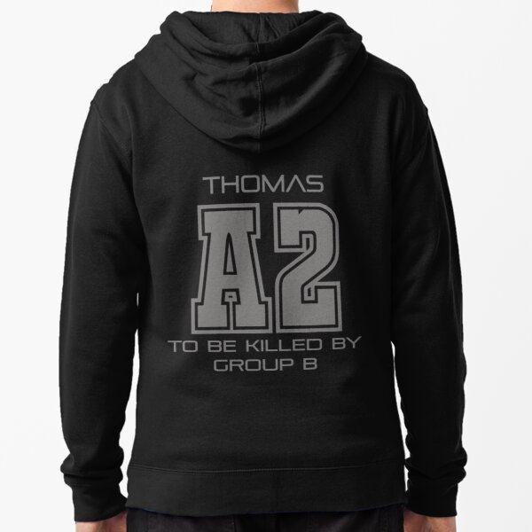 Subject A2 - To Be Killed By Group B Zipped Hoodie