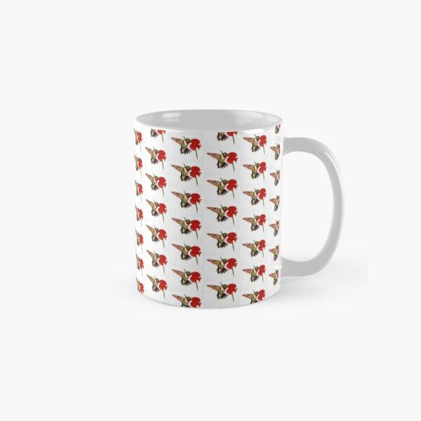 Humming Bird and Flower - Mugs Classic Mug