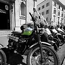 Mopeds and Motorbikes - Italy by Samantha Higgs