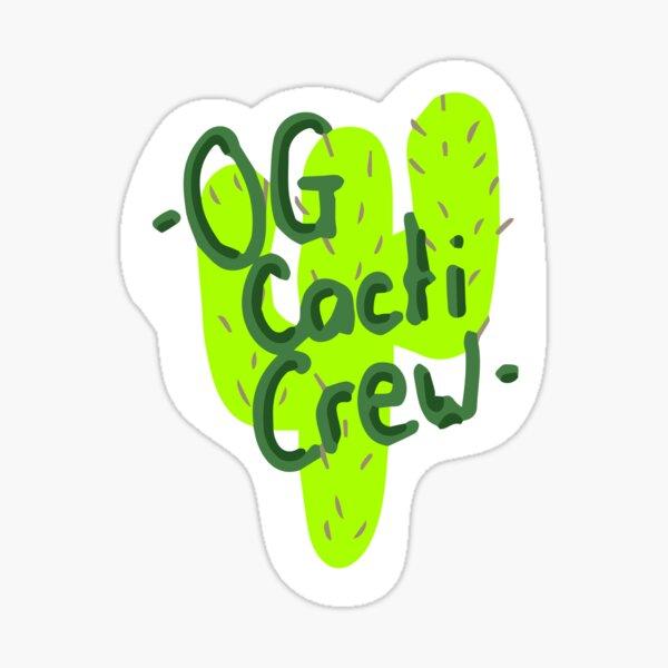 Cacti Crew Sticker