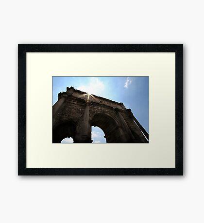 Arch of Septimus Severus Framed Print