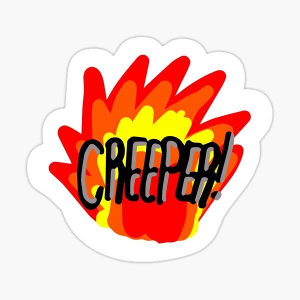 AHHH Creeper Sticker