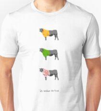 Les Vaches du Tour Unisex T-Shirt