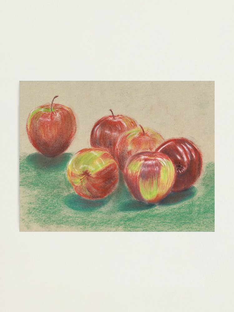 Alternate view of Apples - Wall Art Photographic Print