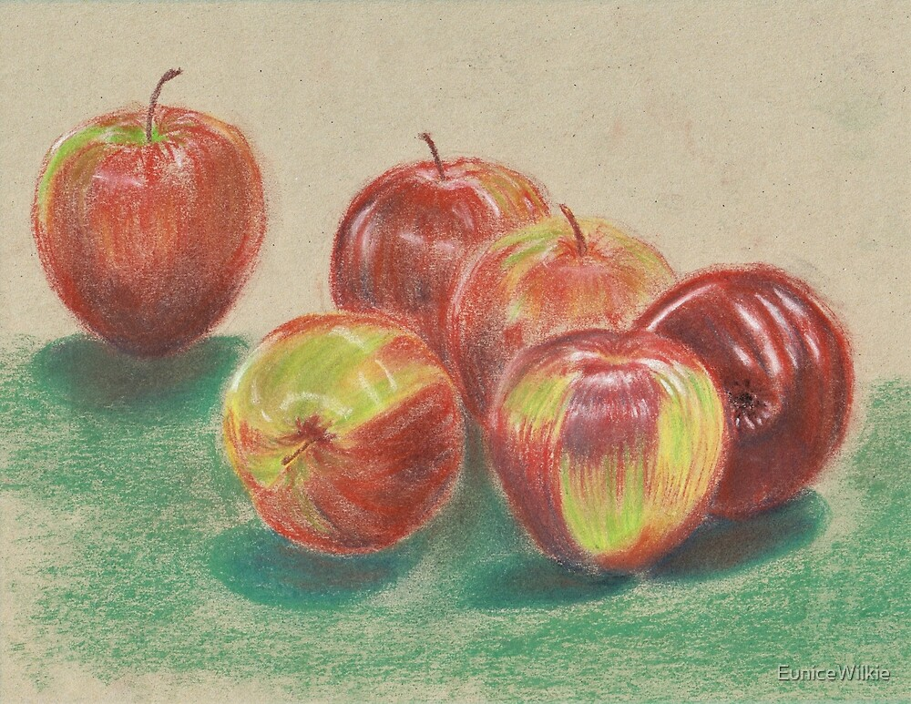 Apples - Scarf and Clothing by EuniceWilkie