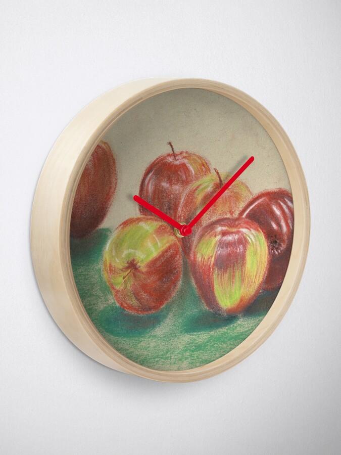 Alternate view of Apples - Clock Clock