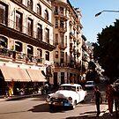 Taxi! Havana Cuba  by Stephen Colquitt
