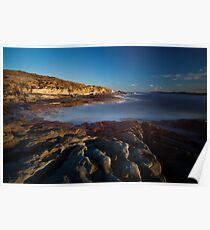 Curwee Cove Sydney NSW (Lee Big Stopper) Poster
