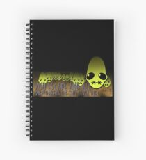 Don't you try to run away Spiral Notebook