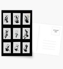 """Despair Chair "" - Complete work Postcards"