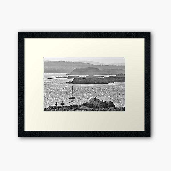 Loch Dunvegan from Colbost, Isle of Skye Framed Art Print
