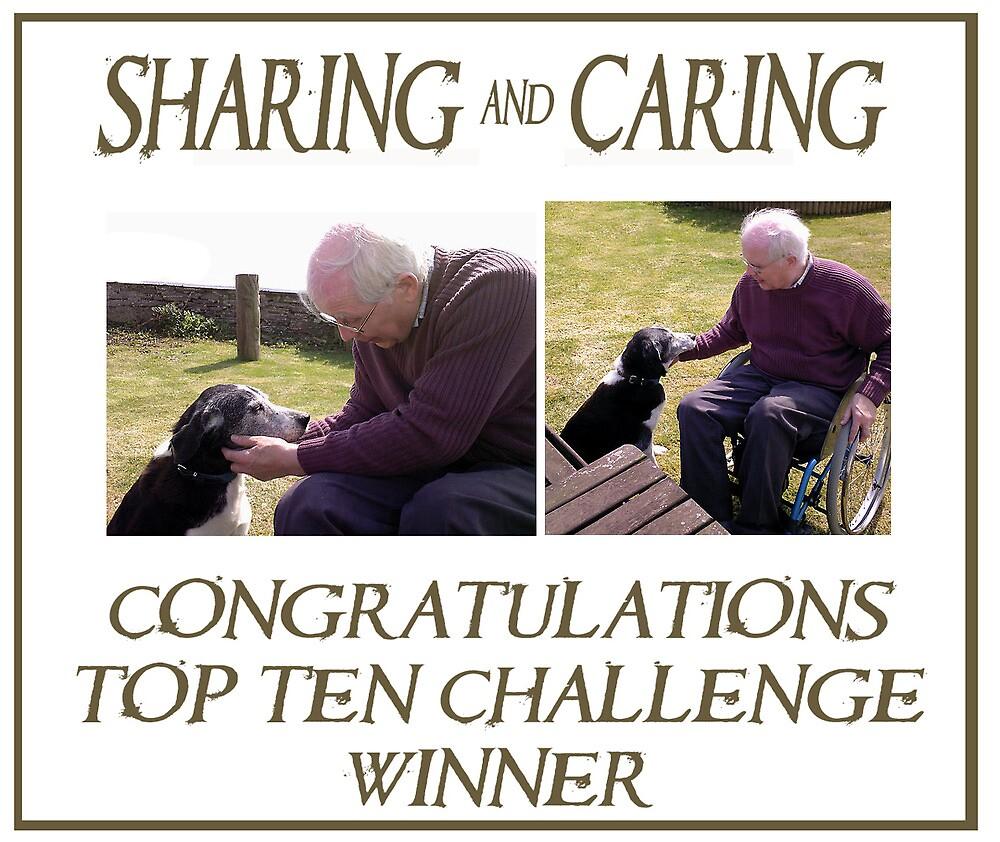 Sharing & caring Top Ten Challenge banner by ragman