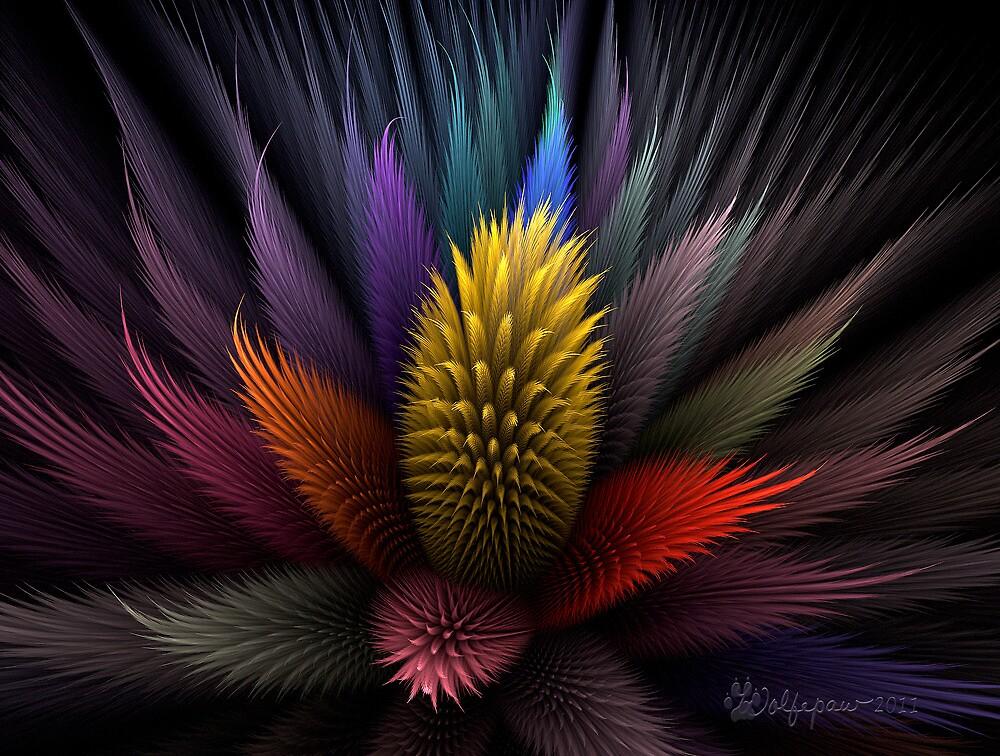 Spiky Botanical by wolfepaw