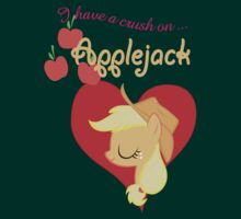 I have a crush on... Applejack - with text
