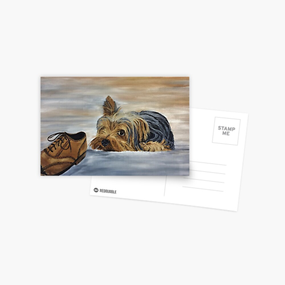 Yorkshire Terrier - Naughty Dog Postcard Postcard