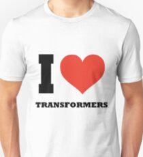 I love Transformers T-Shirt
