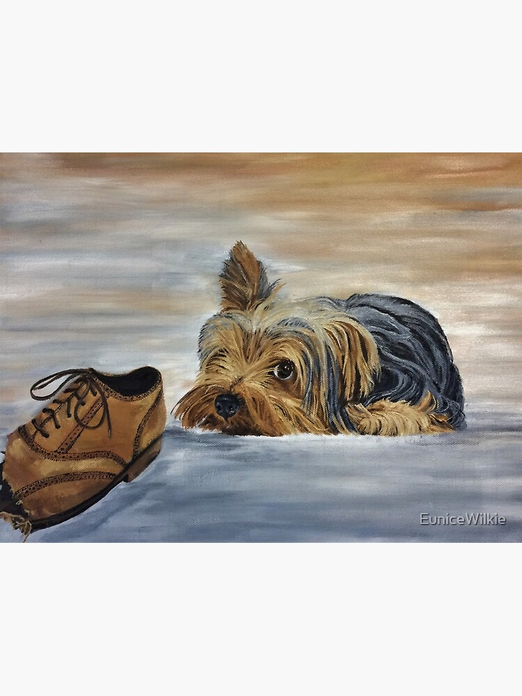 Naughty Yorkshire Terrier - Wall Art by EuniceWilkie