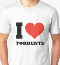 I love Torrents Unisex T-Shirt