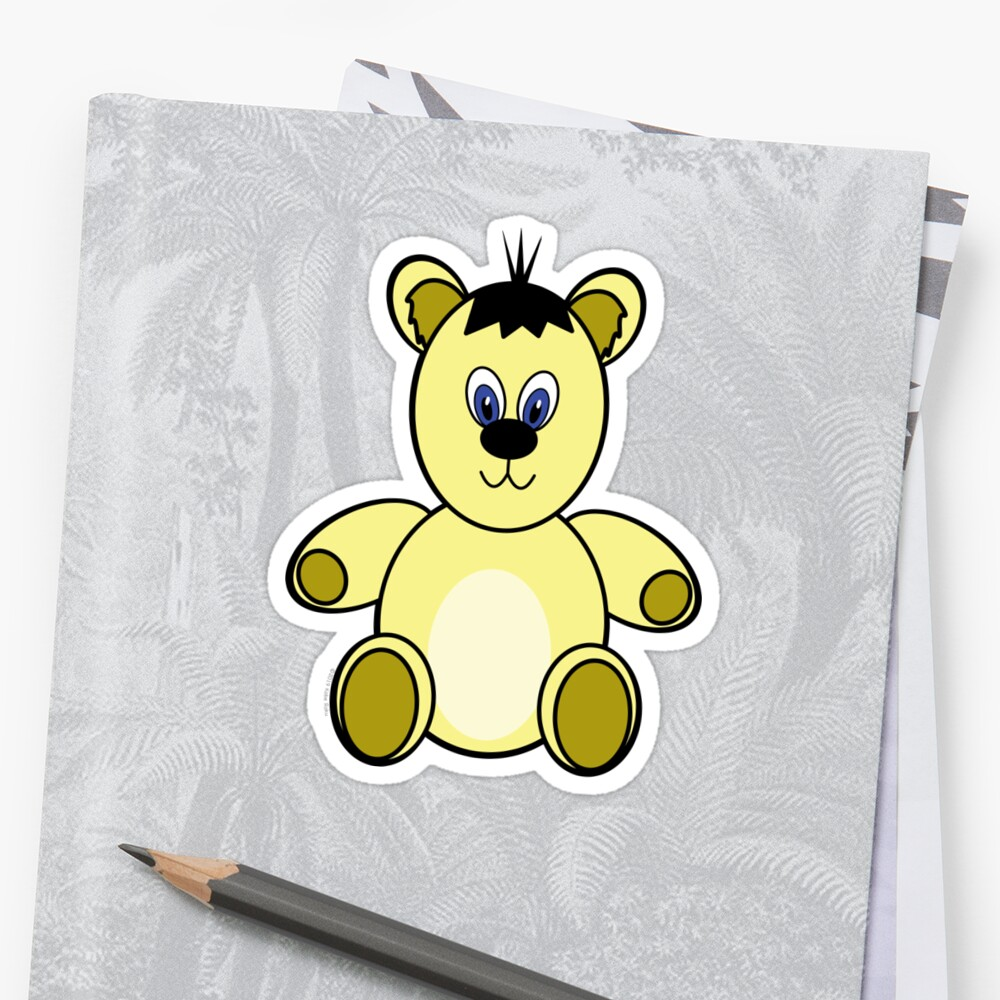 Teddy Bear needs a Cuddle Sticker