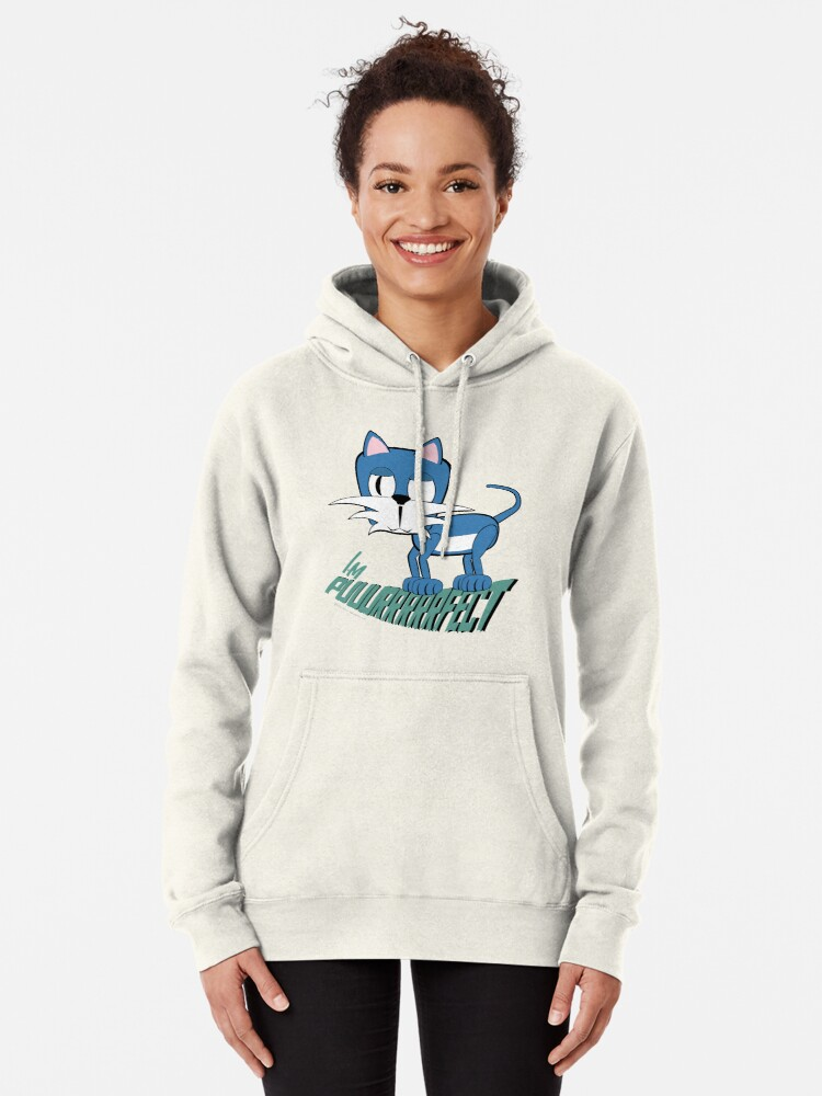 Alternate view of The Puururfect Cat Pullover Hoodie