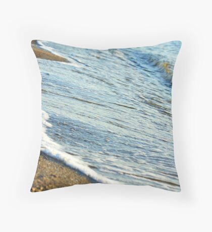 Washed away... Throw Pillow