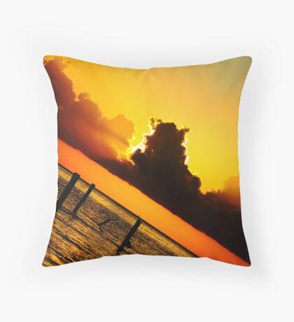Monday Morning Throw Pillow