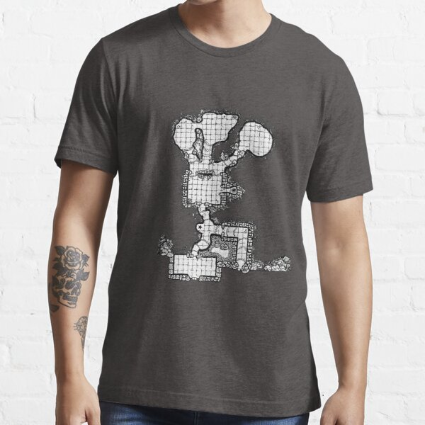 Old School Dungeon Maps | Mountain Shop Essential T-Shirt