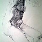 Anica, drawing by Natasa Ristic