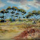 Trees near !Khwa Ttu by Marie Theron