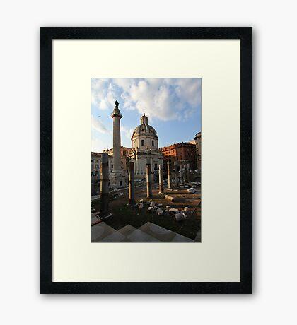 Imperial Forum Framed Print