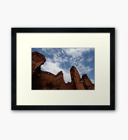 Terme di Caracalla Framed Print