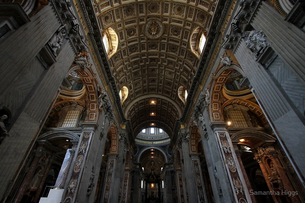 Interior of St Peter's by Samantha Higgs