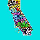 CALIFORNIA State of Mind by thespiltink