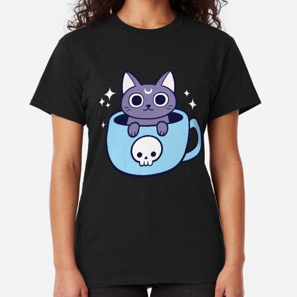 Black Magic Tea / Coffee Cat Classic T-Shirt