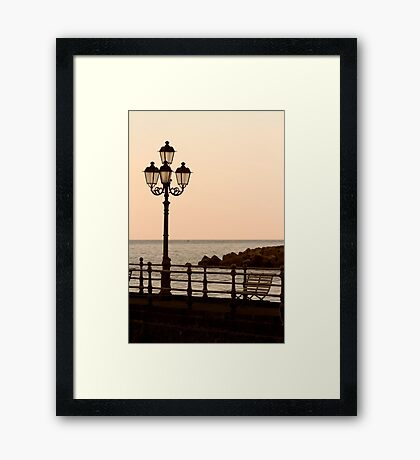 Sit And Watch The Sun Go Down Framed Print