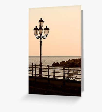 Sit And Watch The Sun Go Down Greeting Card