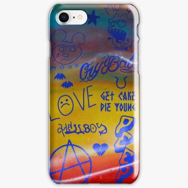 Lil Peep Fruit Roll Tattoos - Lil Peep Merch iPhone Snap Case