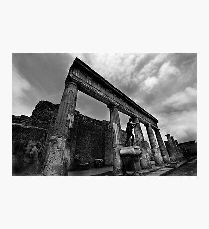 Temple Ruins - Pompeii Photographic Print