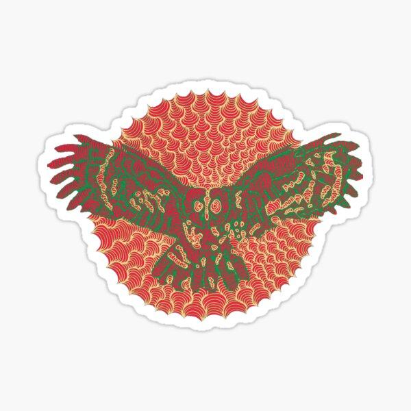 Eule Sticker