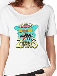 Don't Feed The Zombears  Women's Relaxed Fit T-Shirt